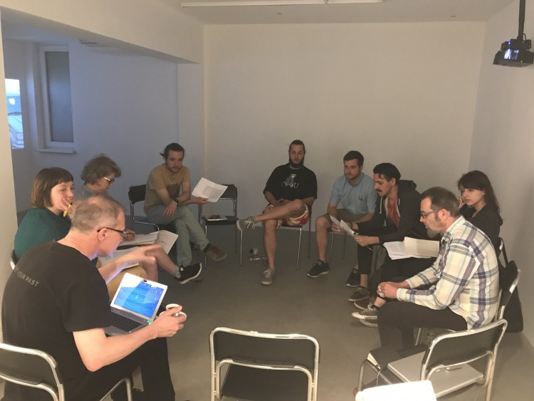 Discussions of key texts on contemporary art, culture and society