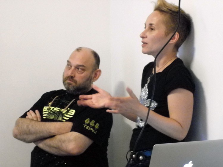 Presentation by Boryana Rossa and Oleg Mavromatti
