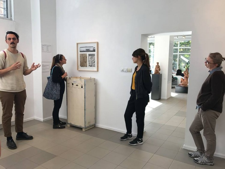 Visit to the solo exhibition by Radostin Sedevchev at Vasska Emanuilova Gallery