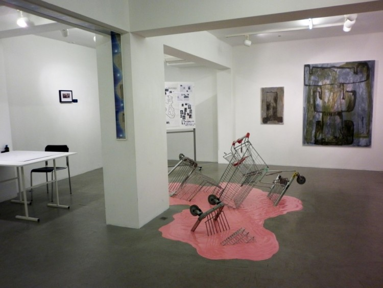 Publication on the school and the final exhibition by Kultura newspaper
