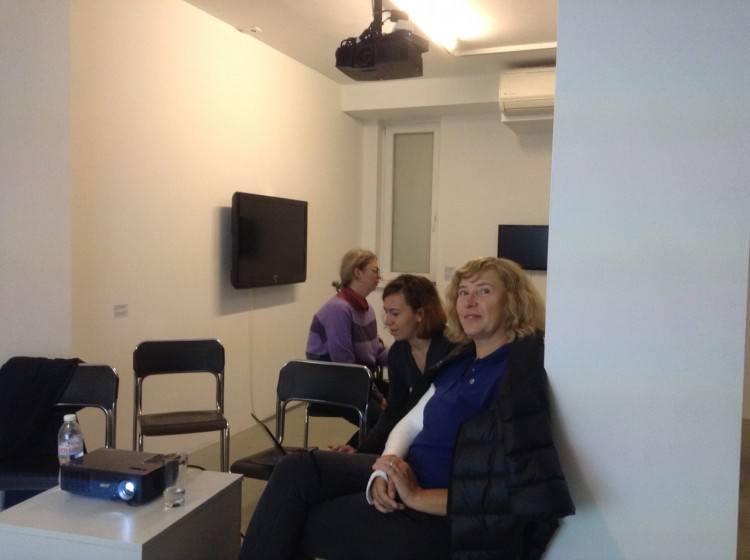 Workshop by Anna Jermolaewa