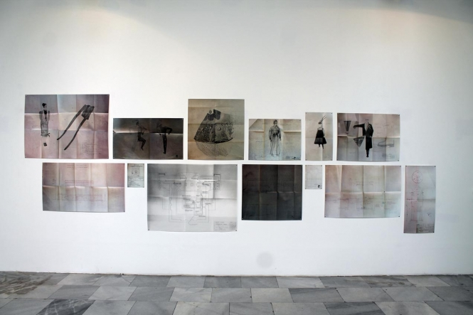 Aleksandra Chaushova, Annulment of the End of Things, 2015 digital print, serigraphy, pencil drawing, dimensions variable