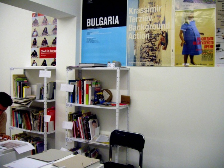 OUR 20 YEARS IN CONTEMPORARY ART, ICA-Sofia, May 21, 2010 – Jun 30, 2010, exhibition view courtesy ICA-Sofia