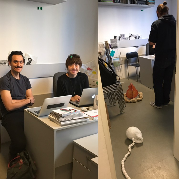 Meeting with Mami Kataoka - curator of Sidney Biennale