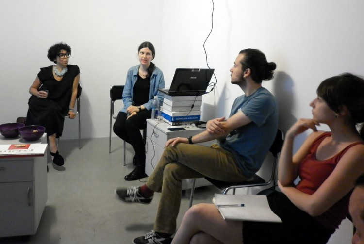 The Bulgarian artist at work in America – workshop by Miryana Todorova