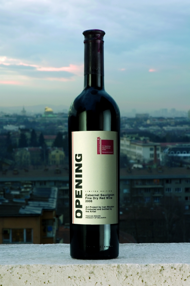 Ivan Moudov Wine for opening, Ljubljana, 2009