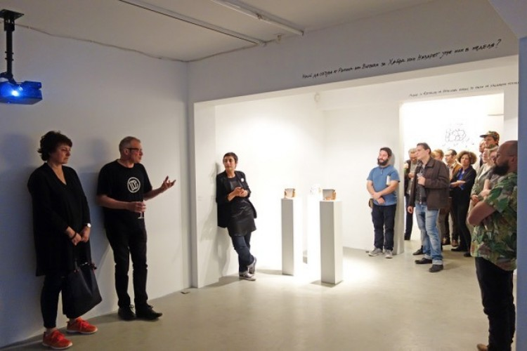 "Guided tour of the exhibition ""The Image is No Longer Available"""