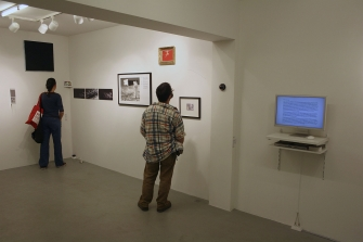 After the Flight, exhibition view, group show, ICA-Sofia Gallery
